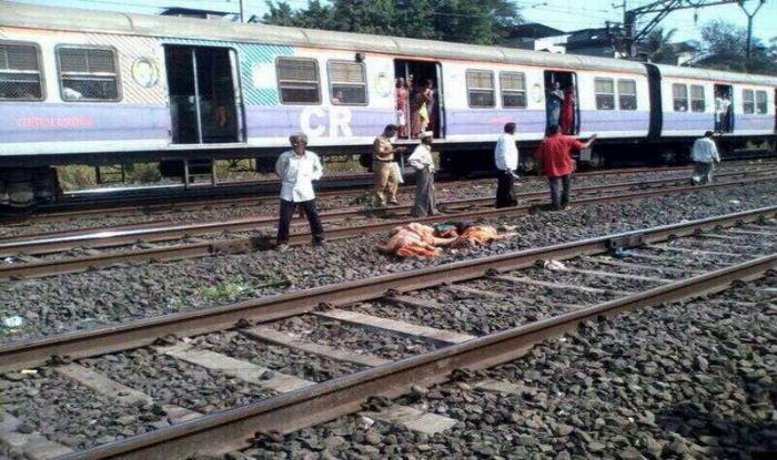 ムンバイで飛び込み自殺した人