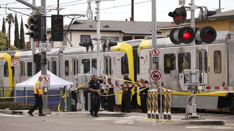 海外の高校生が電車に飛び込み自殺した現場